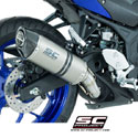15-17 Yamaha YZF-R3 SC-Project Oval Silencer