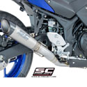 15-17 Yamaha YZF-R3 SC-Project S1 Full System Exhaust