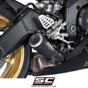 06-16 Yamaha YZF-R6 SC-Project Low Position CR-T Silencer