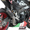 15-16 Aprilia RSV4 RF/RR SC-Project Oval Racing Silencer