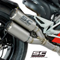 Panigale V4/S SC-Project 2-1-2 System with CRT Titanium Silencer