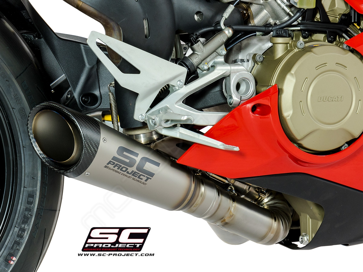 Ducati Panigale V4/S SC-Project 2-1 System with S1 Silencer