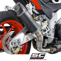 15-16 Aprilia Tuono V4 Factory/RR SC-Project Oval Silencer