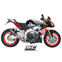 15-16 Aprilia Tuono V4 Factory/RR SC-Project Oval Race Silencer