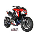 13-16 Kawasaki Z800 SC-Project Oval Racing Titanium Full System