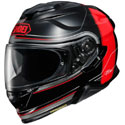 Shoei GT-Air II Full Face Motorcycle Helmet CrossBar Black/Red