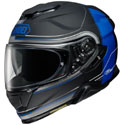 Shoei GT-Air II Full Face Motorcycle Helmet CrossBar Black/Blue