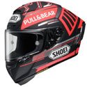 Shoei X-14 Full Face Motorcycle Helmet Marquez Concept Black/Red