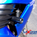 Shogun No-Cut Frame Sliders 06-11 Kawasaki ZX14R