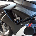 11-17 Suzuki GSXR 600/750 Shogun No-Cut 3pc Slider Kit Black
