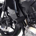 14-16 Kawasaki Z1000 Shogun No-Cut Frame Sliders Black