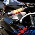 00-01 Honda CBR 929RR Shogun Motorsports Bar End Sliders Black