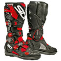 Sidi Crossfire 2 SRS Off-Road Motorcycle Boots Black/Red