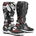Sidi Crossfire 2 SRS Off-Road Motorcycle Boots Black/White
