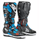 Sidi Crossfire 2 SRS Off-Road Motorcycle Boots Light Blue/Black