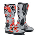 Sidi Crossfire 3 SR Off-Road Motorcycle Boots Fluo Red/Ash
