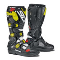 Sidi Crossfire 3 SR Off-Road Motorcycle Boots White/Black/Yellow