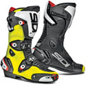 Sidi Mag-1 Motorcycle Racing Boots Black/Fluo Yellow