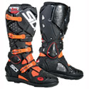 Sidi Crossfire 2 SRS Off-Road Motorcycle Boots Black/Fluo Orange