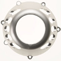 Ducati Speedy Moto Flow Clutch Cover Silver