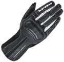 Spidi Ladies Charm Leather Motorcycle Riding Gloves Black