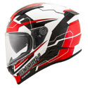 Suomy Speedstar Full Face Helmet Camshaft Black/White/Red