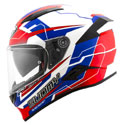 Suomy Speedstar Full Face Helmet Camshaft Blue/White/Red