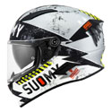 Suomy Speedstar Full Face Helmet Propeller Matte Silver/Black