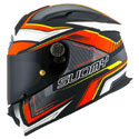 Suomy SR Sport Full Face Helmet Engine Matte Black/Red