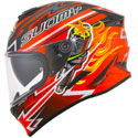 Suomy Stellar Full Face Motorcycle Helmet Boost Orange