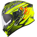 Suomy Stellar Full Face Motorcycle Helmet Boost Yellow