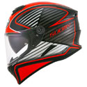 Suomy Stellar Full Face Motorcycle Helmet Boost Cruiser Fluo Red