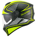 Suomy Stellar Full Face Motorcycle Helmet Boost Fluo Yellow