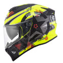 Suomy Stellar Full Face Helmet Wrench Matte Fluo Yellow/Grey