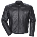Tourmaster Coaster 3 Mens Leather Motorcycle Jacket Black