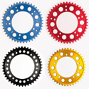 Driven Rear Sprocket 530-45T Black for Honda/Triumph