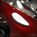 Driven Racing Honda Mirror Eliminator Cap Kit