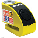 Xena Security Disc Lock Alarm - XZZ6L-Y Yellow Body