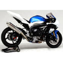09-11 GSXR 1000 Yoshimura Titanium Canister Full SS System